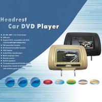 Headrest Bag DVD Monitor Car Headrest Monitor DVD HD Display 7 DVD MP5 USB LCD Screen Car Pillow Headrest Monitor