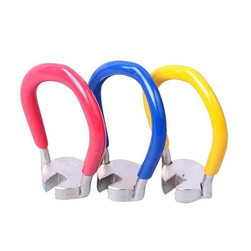 1 шт Портативный мини велосипедная перекладина ключ колеса спицевой ключ соски велосипедах аксессуары прочный велосипедный Инструменты для ремонта