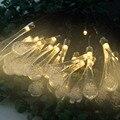 Распродажа  Рождественский реквизит  5 м  20 светодиодов  солнечный струнный светильник  водная капля  стильная лампа  декорации  Новогоднее у...