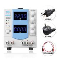 0 30V 5A Adjustable Portable Digital LED DC Power Supply 110V/220V Regulator EU/US Plug Precise Voltage Regulators