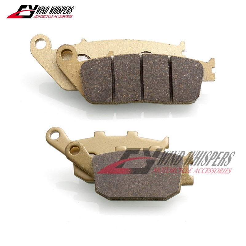 Copper fiber Front Rear Brake Pads For Honda NC750s NC750 NC 750 S X ( Rc 70 72 ) 2014- UP/ VT1300cx VT1300 VT 1300 CX 2010-UP