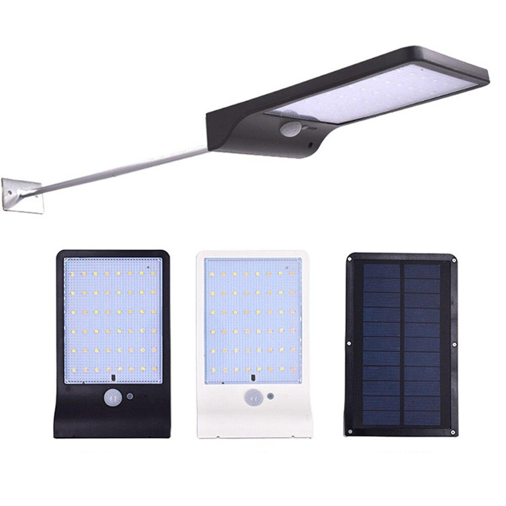 36 Led Solar Power Motion Sensor Wand Licht Outdoor Garten Sicherheit Lampe Wasserdicht Energiesparende Licht Straße Lampe