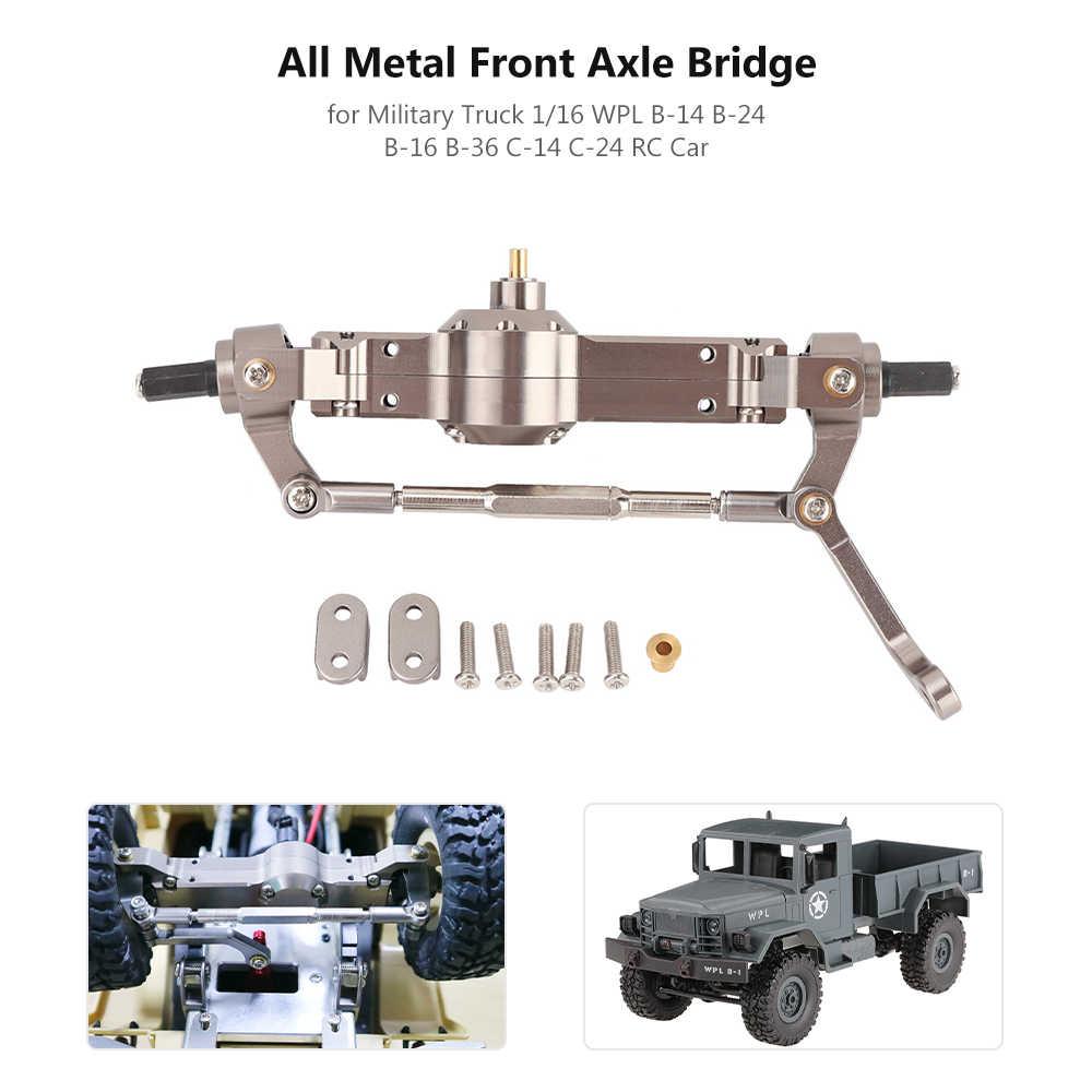 Front Axle Bridge for Military Truck 1//16 WPL B-14 B-24 B-16 B-36 C-14 C-24 K3K6