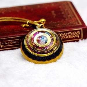 Image 2 - Orgonite Energy Reiki Stone Necklace Pendant Good Luck Bringers Help Love Feelings Necklace Mysterious Harajuku Chakra Jewelry