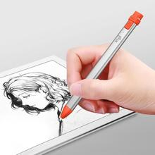 2019 Logitech Crayon Stylus Touch Pen for iPad Pro 11/12.9 Mini 5th Gen Air 3rd Gen Stylus Pen Mobile Phone Drawing Tablet Pens sinairsoft 5th gen sks 5th gen hi profile integral see thru mount complete with 1 rings mnt 640t5