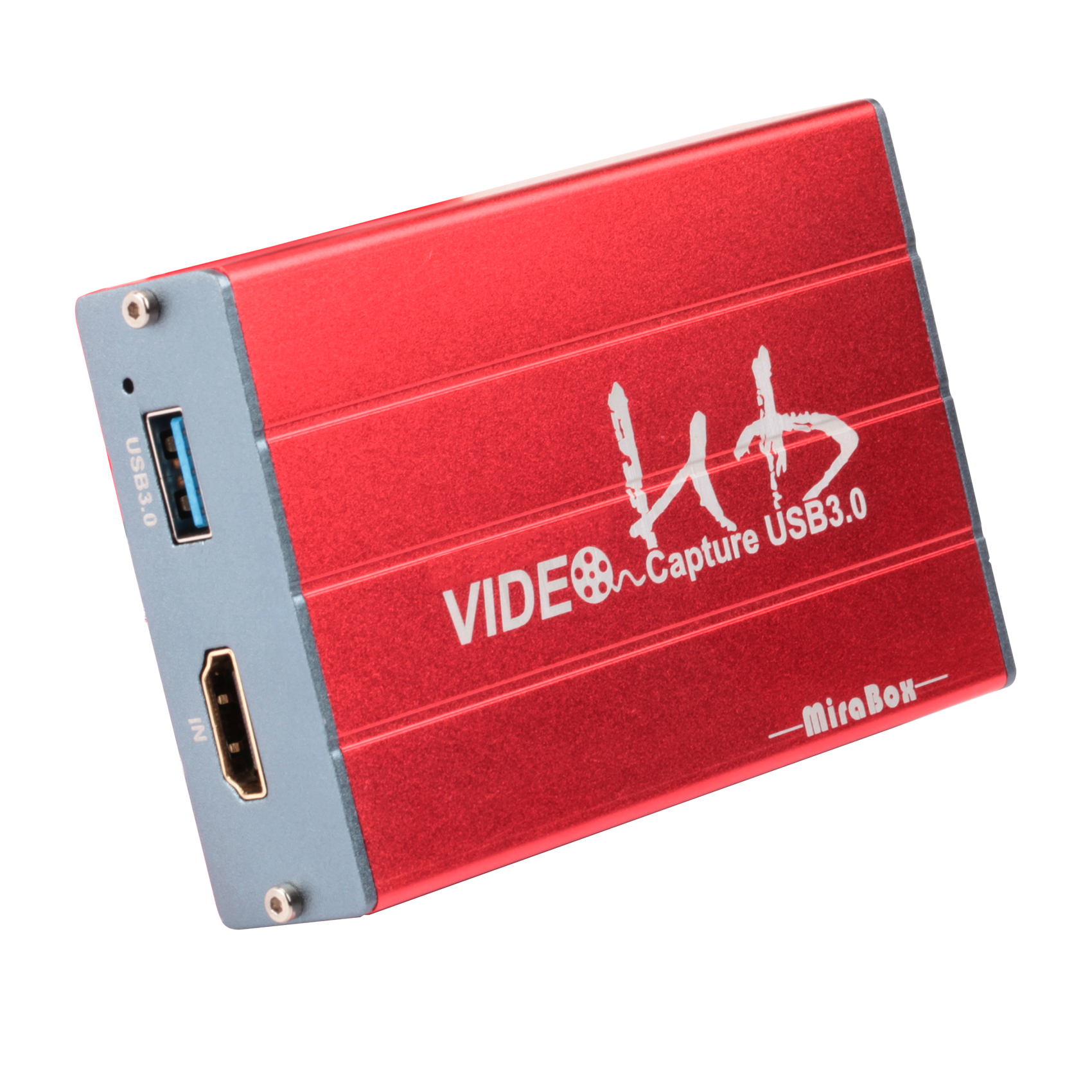 MiraBox USB3.0 HDMI vedeo Capture Card 1080P 60FPS Portable HD Video Recorder Device Live Streaming for Mac Windows Linux System
