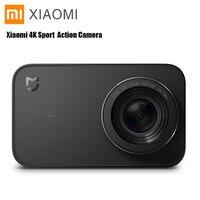 Xiaomi Mijia 4 K Спортивная экшн камера мини камера видеокамера запись WiFi цифровая потребительская камера s Bluetooth Ambarella A12S75