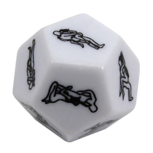 Kama Sutra Dice Fun Adult Games Erotic Sexy Valentine's Wedding Anniversary gift Exotic Tricks Dice Game Toy For Bachelor Party(China)