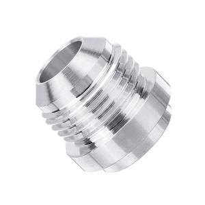 New 1Pcs Silver 6AN/ 8AN/ 10AN Male Adapter Aluminum Alloy Welding Joint On Fitting Bung Engines & Components 872-10