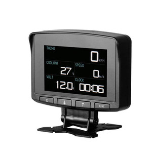 Image 1 - OBD2 HUD Head Up Display Digital Car Computer Car Digital Display Speed Meter Electronic Monitor Diagnosis Tool