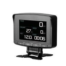Pantalla Digital HUD OBD2 para coche, pantalla Digital para coche, medidor de velocidad, Monitor electrónico, herramienta de diagnóstico
