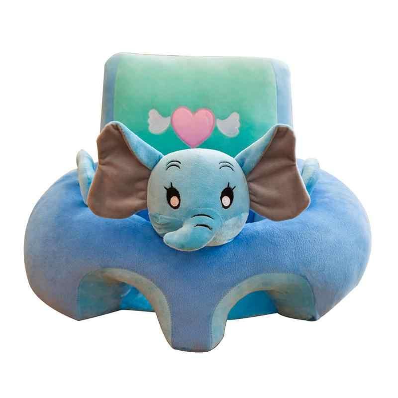 Детское сиденье с мультипликационным принтом, плюшевая игрушка для новорожденных, безопасное сиденье, детское кресло, аккуратная кожа, Детские обложки для дивана, лучший подарок