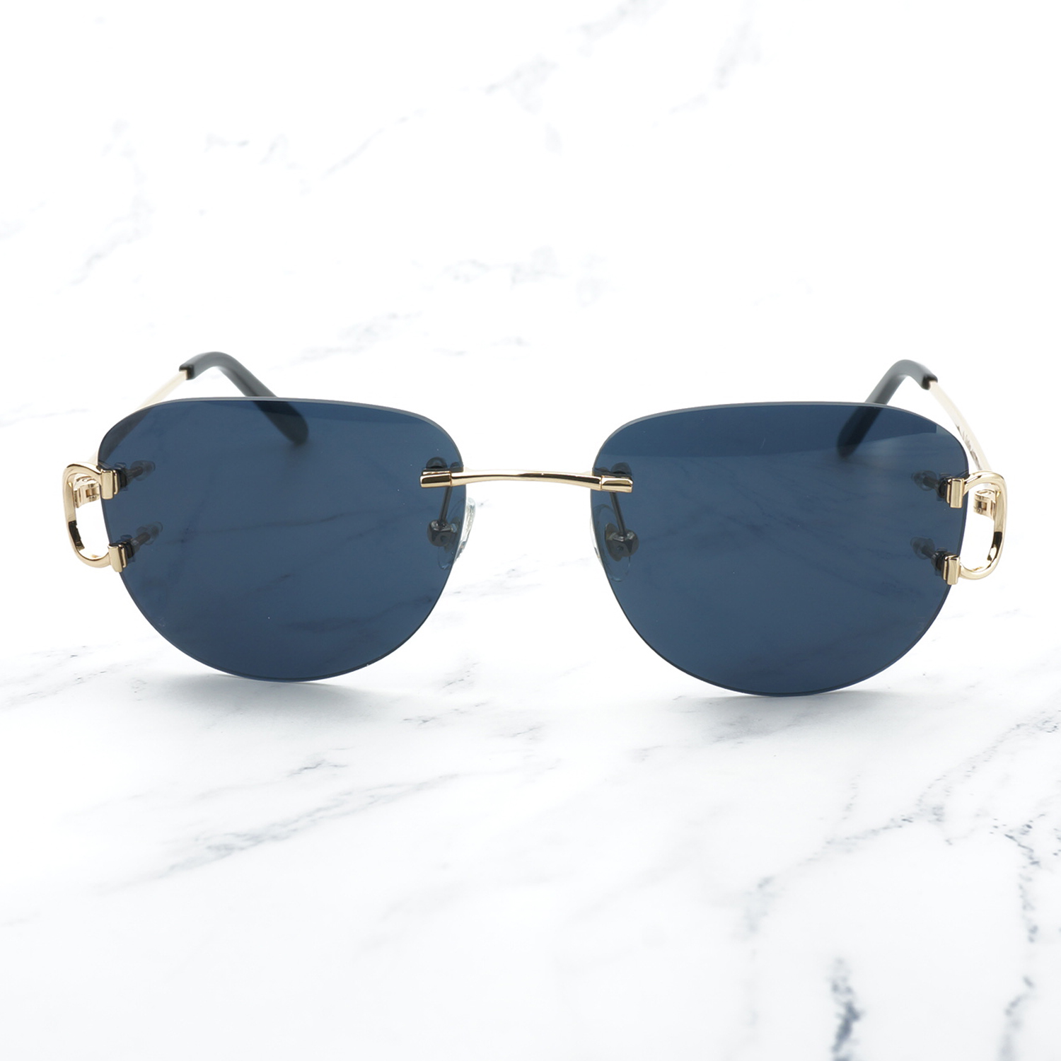 Image 4 - Vintage Pilot Sunglasses for Men Retro Carter Glasses Frame for Women A3 Wholesale Men Sunglass Promotion Female Glass Shades-in Women's Sunglasses from Apparel Accessories