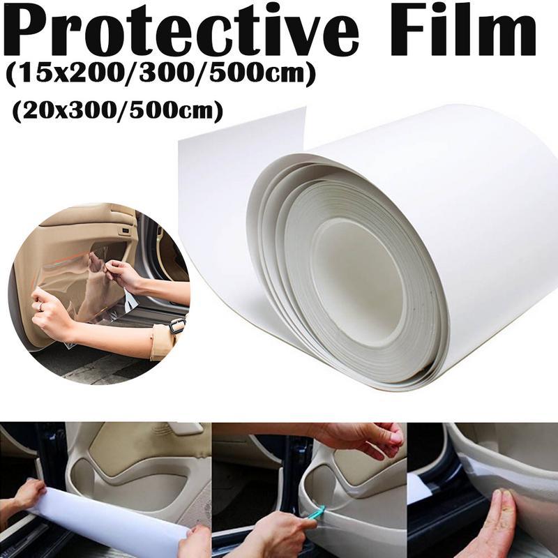 15cm/20cm Rhinoceros Door Panel Car Protective Film Door Panel Protective Film Automotive Interior Car Sticker Auto Products