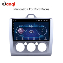 Android 8,1 автомобильный аудио плеер 9 дюймов для Ford Focus 2014-2006 автомобильный gps-навигатор с hd-экраном, Playstore, Wifi