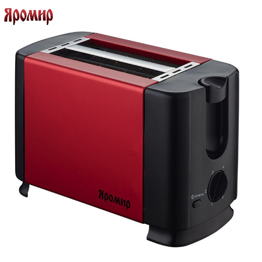 Toasters yaromir 0R-00002402 Cooking Appliances Toaster YR-602 with decoration Delicious bread breakfast