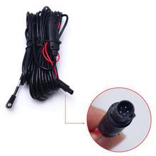 10 м 2,5 мм до 5-контактный разъем заднего хода автомобиля заднего вида для парковки диск Регистраторы шнур Камера видео удлинитель кабеля для BMW