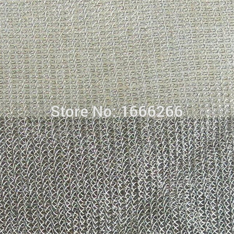 5G Wifi Blocking EMF EMI RF RFID Shielding Anti Radiation Protection Fabric Used For Mosquito Net