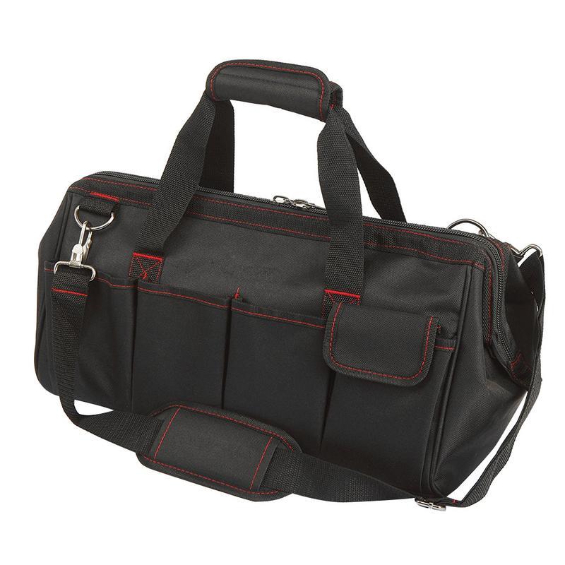 Workpro Large Pocket Tool Storage Bag Multi-Function Electrician Kit 18 Inch Tool Bag