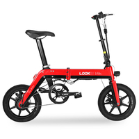 14 Mini Folding Electric Bicycle 36 V 350 Watt Motor Of High Speed Frame Anti theft Built in Lithium Battery Electric Bicycle
