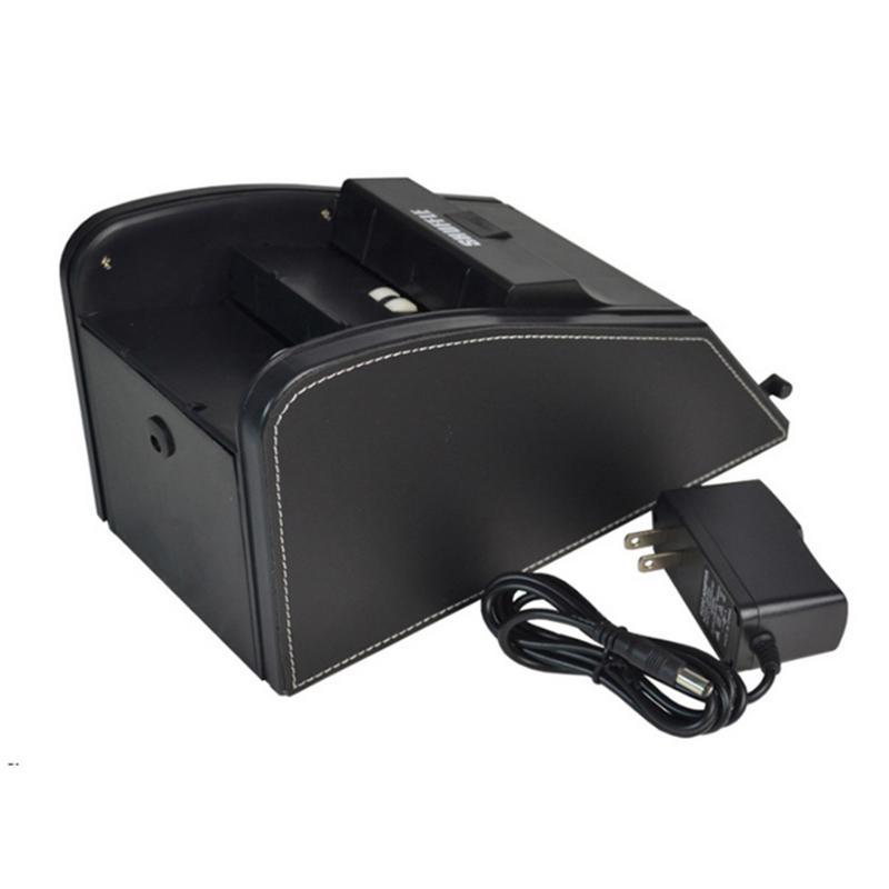 Automatique carte Shuffler électronique professionnel carte Shuffler 2 en 1 Shuffle Deal Machine à piles