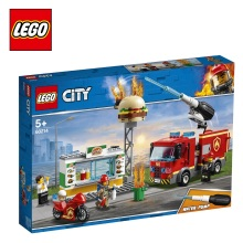 Конструктор LEGO City Fire 60214 Пожар в бургер-кафе
