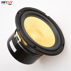 Image 5 - HIFIDIY canlı HIFI hoparlörler DIY 6 inç 6.5 Midbass Woofer hoparlör ünitesi 8 OHM 120W cam elyaf titreşimli havzası hoparlör K6 167S