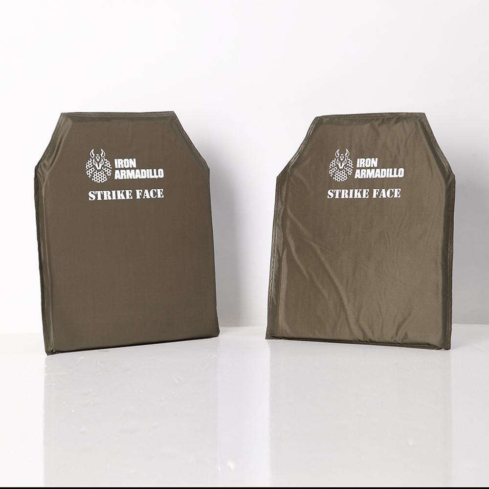 AA Shield Bulletproof Soft Panel Body Armor Inserts Plate UHMWPE Core Self Defense Supply Ballistic NIJ Lvl IIIA 3A 10x12#2 Pair