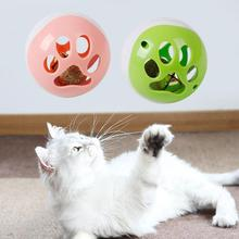 Cat Catnip Bell Balls Colorful Sound Electric Funny Pet Interactive Cat Ball Toy with 3 LED Sounds Music Electric Ball