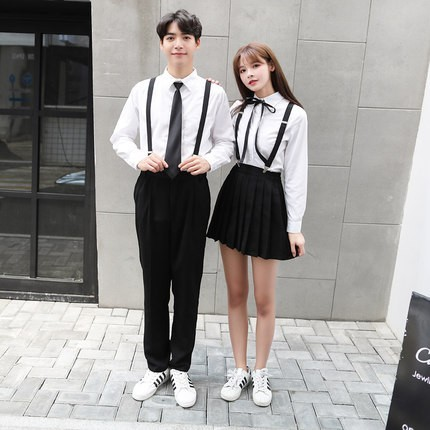 Japanese School Uniforms Short-sleeved T Shirt College Shirt Suit Skirt Female Summer Sailor Suit