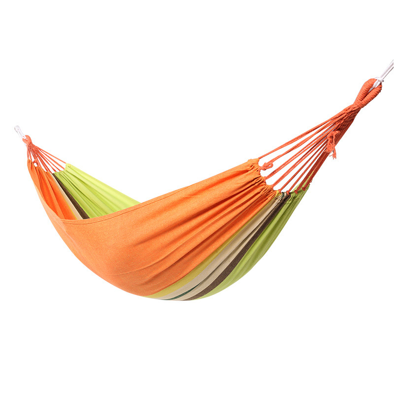 200*150CM Outdoor Canvas Hammock Indoor Thickening Widen Adult Children Swing Camping Beach Folding Chair Rede