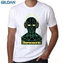 GILDAN t shirts funny Printed Mens T Shirt Graphic EDM House Music Festival Ibiza Electro TShirt Tee Unisex cool
