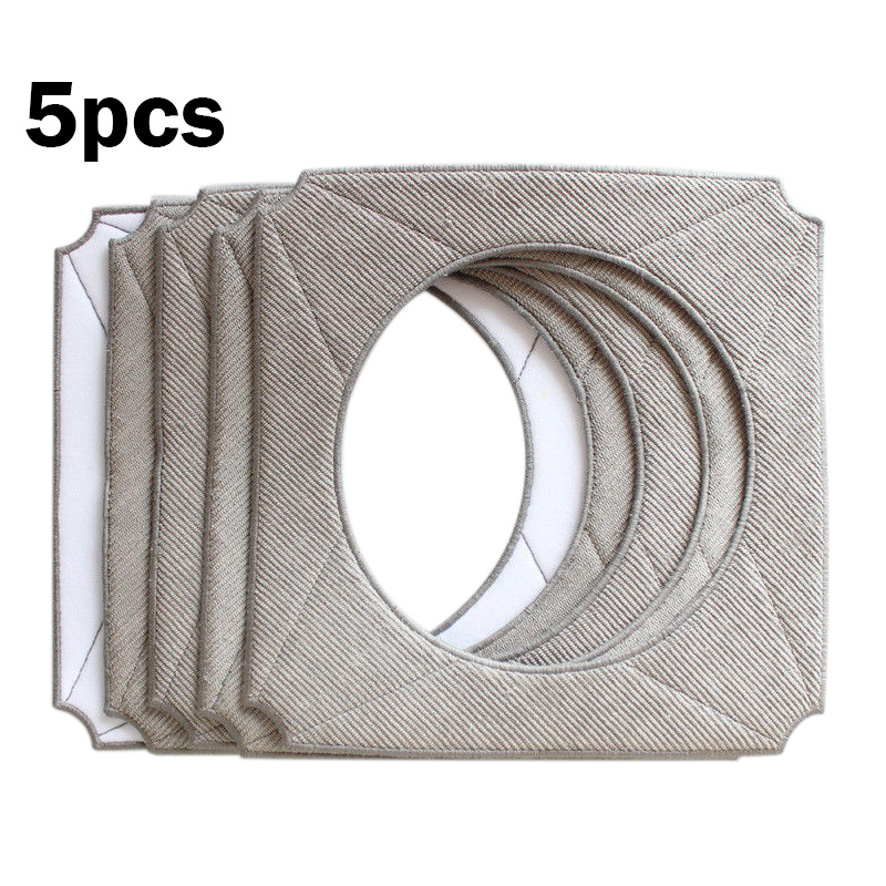 5pcs Microfiber Cleaning Pads For ECOVACS WINBOT W950 Cleaning Window Cloth Pads|Cleaning Brushes| |  - title=