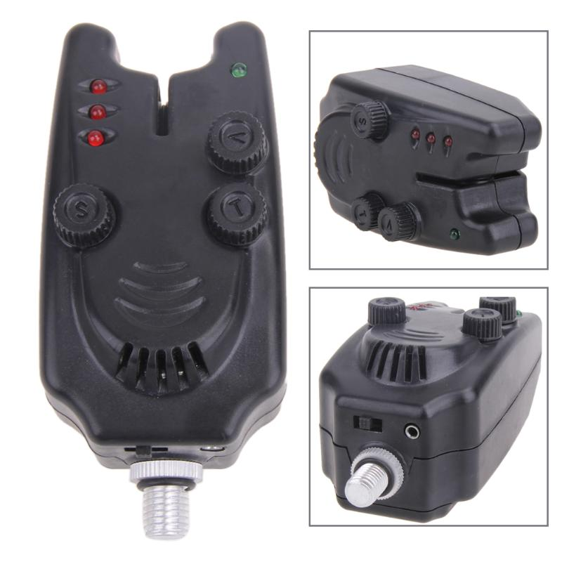 Fishing Bite Alarm Bell With 4 LED Wireless Outdoor Pesca Fishing Tools Electronic Water Resistant Ultra Modern Shape Set