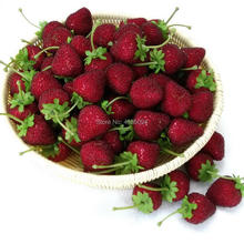 Gresorth 12pcs Artificial Lifelike Strawberry Decoration Fake Fruit Home Kitchen Party Christmas DIY Photo Props