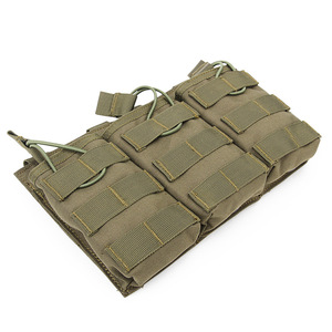 Image 2 - Tactical Triple Magazine Pouch for G36 Mag Outdoor Paintball Games Group Activities Outdoor Pocket Bag