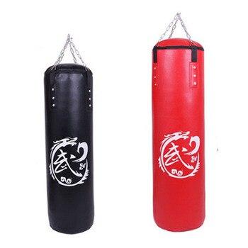 57be151583 Sac de frappe entrainement sac de boxe crochet coup de pied suspendu Muay  Thai Sanda sac de frappe sac de frappe noyau vide