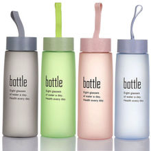 Free Leak Proof Sports Water Bottle Eco Friendly Tour Hiking Drinking PP Letter Cups