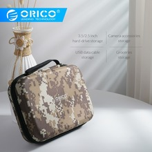 ORICO HDD Storage Box Hard Disk Case Zipper Pouch External Hard Drive Disk Prote