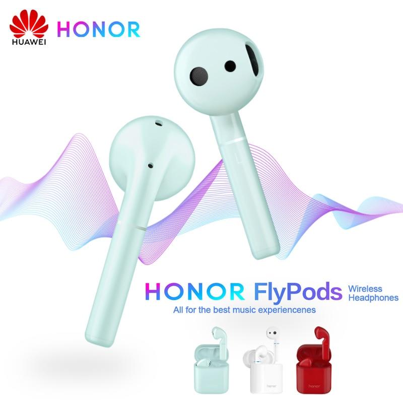 Huawei Honor Flypods écouteur sans fil étanche dynamique casque contrôle du robinet Charge sans fil Bluetooth 5.0 Flypods Pro Lite