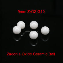 9mm ZrO2 Zirconia Oxide Ceramic Ball G10 10pcs for valve ball,bearing, homogenizer,sprayer,pump 9mm ceramic ball ZrO2