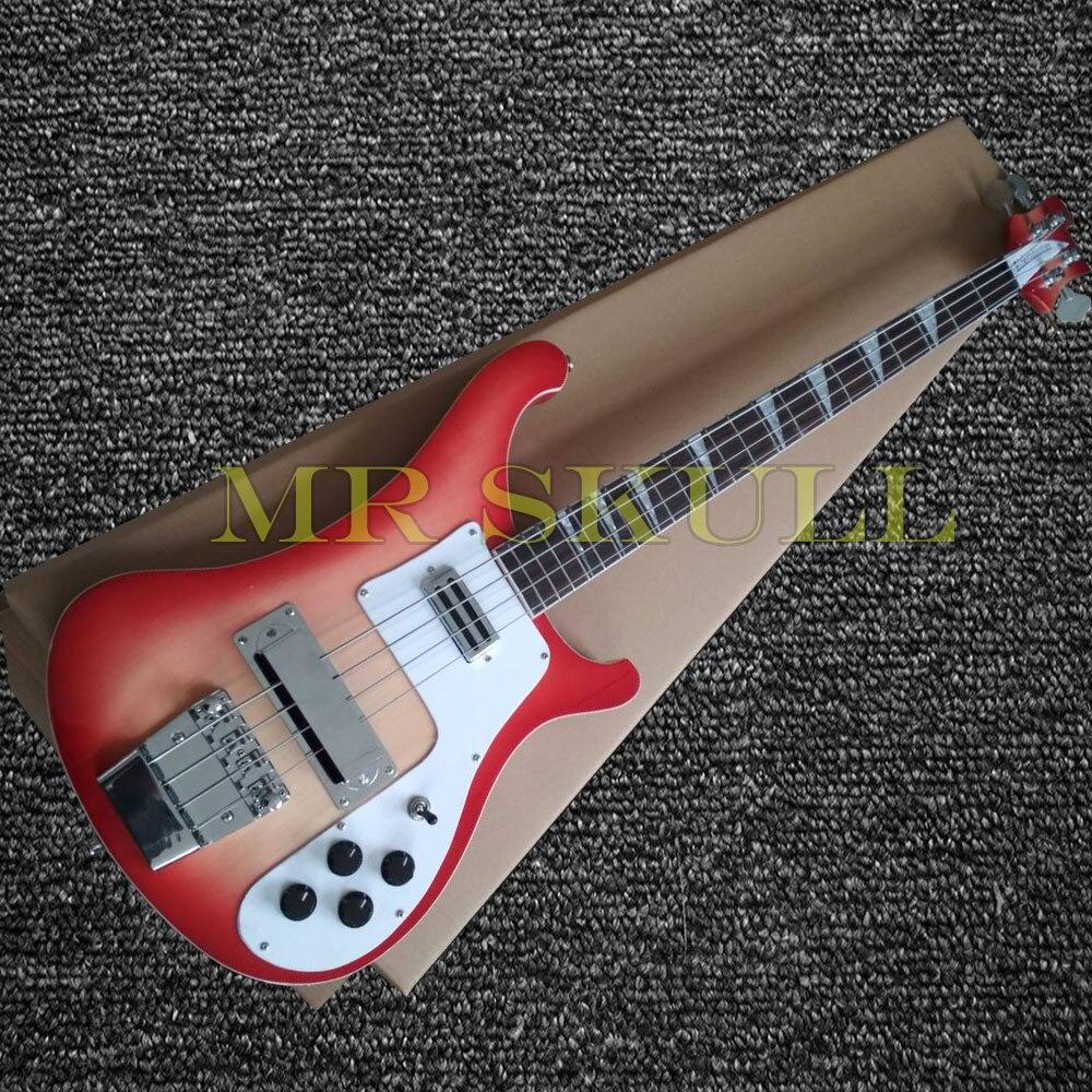 OEM Électrique Basse Guitares Cherryburst Rickenback 4003 basse guitare avec 4 cordes