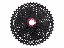 46T Sunrace CSMX3 Mountain Bike Bicycle 10 Speed Wide Ratio Cassette 11-40T 42T Black/Champagne