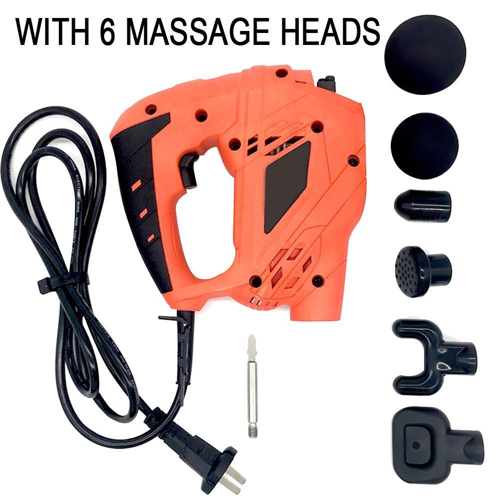 Massage des tissus profonds pistolet masseur musculaire soulagement de la douleur musculaire entraînement Relaxation du corps thérapie par Vibration électrique équipement de Fitness