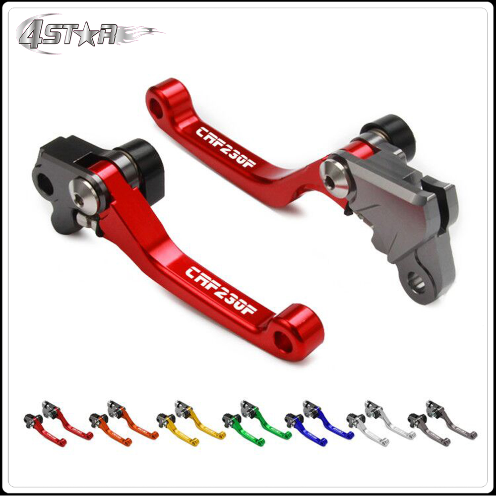 Motorbike CNC Aluminum Custom Made Brake Clutch Lever For HONDA CRF230F CRF230 F CRF 230 F 2003-2017 Dirt Bike Motocross(China)