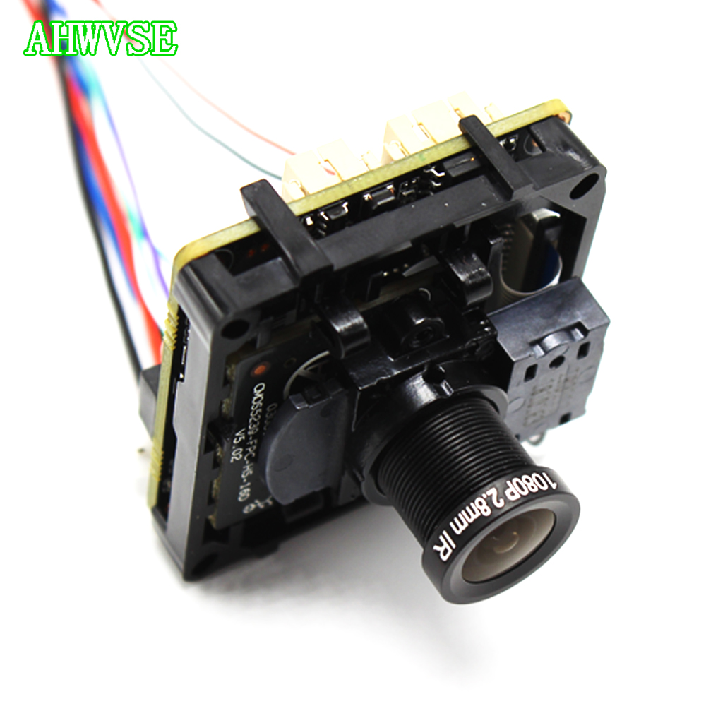 Wide View 2 8mm Lens 5MP IPC Board 1920P CMOS sensor DIY CCTV IP camera module