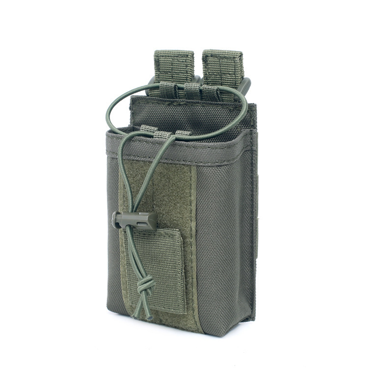 Outdoor Package Pouch Tactical Sports Pendant Military Molle Nylon Radio Walkie Talkie Holder Bag Magazine Mag Pouch Pocket Z65