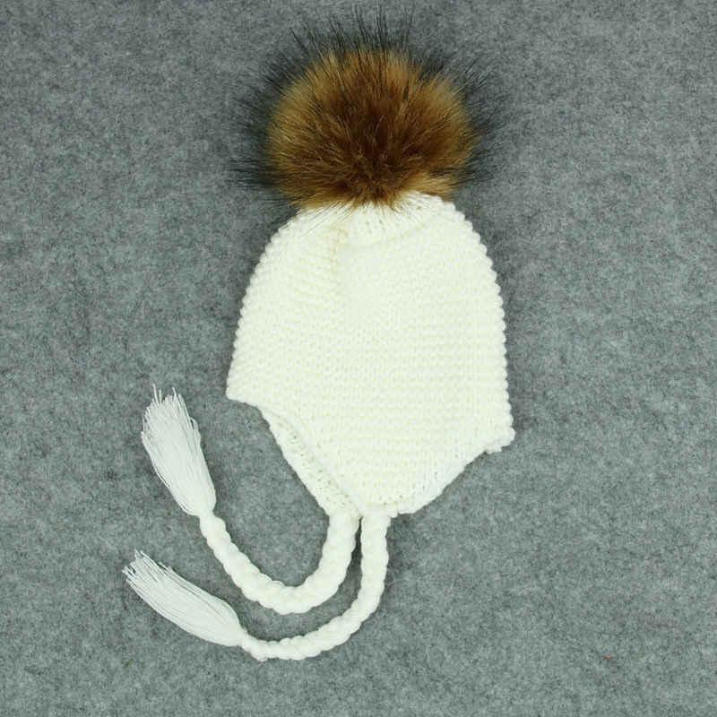 Cute Toddler Kid Girl Boy Baby Infant Winter Warm Crochet Knit Hat Beanie Cap