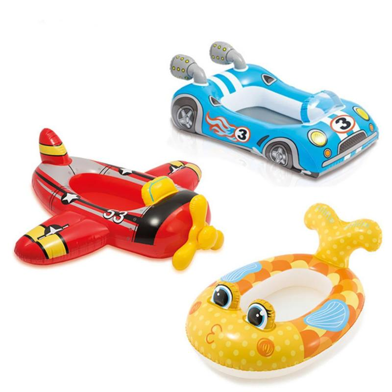 1Pc Child Cartoon Swimming Ring Baby Swimming Ring Pool Seat Toddler Float Ring Aid Trainer Float Water For Kids Hot Sale