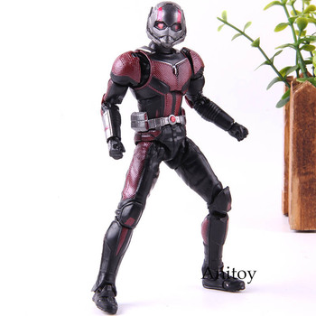 S.H.Figuarts SHF Hot Toy Action Figure Ant Man and the Wasp PVC Collection Model Toys 15cm predator concrete jungle figure